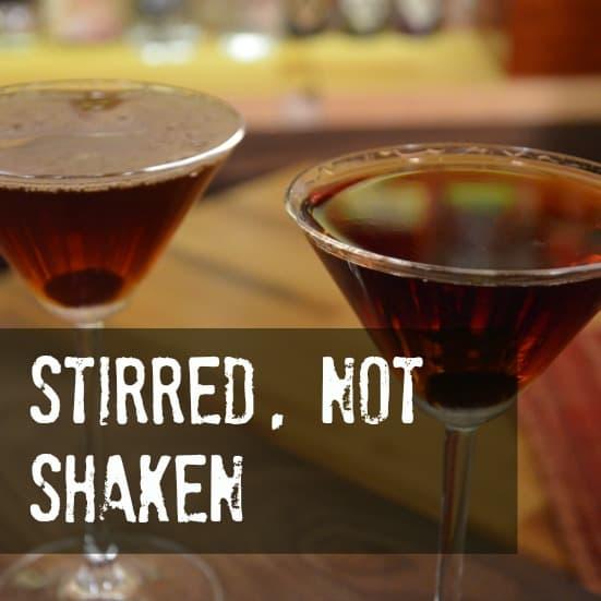 Mixology Tip - When do you Stir and when do you shake a cocktail?