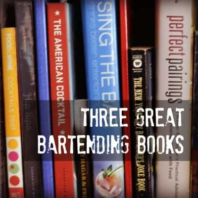 MTP – 12 – Three Great Cocktail Books