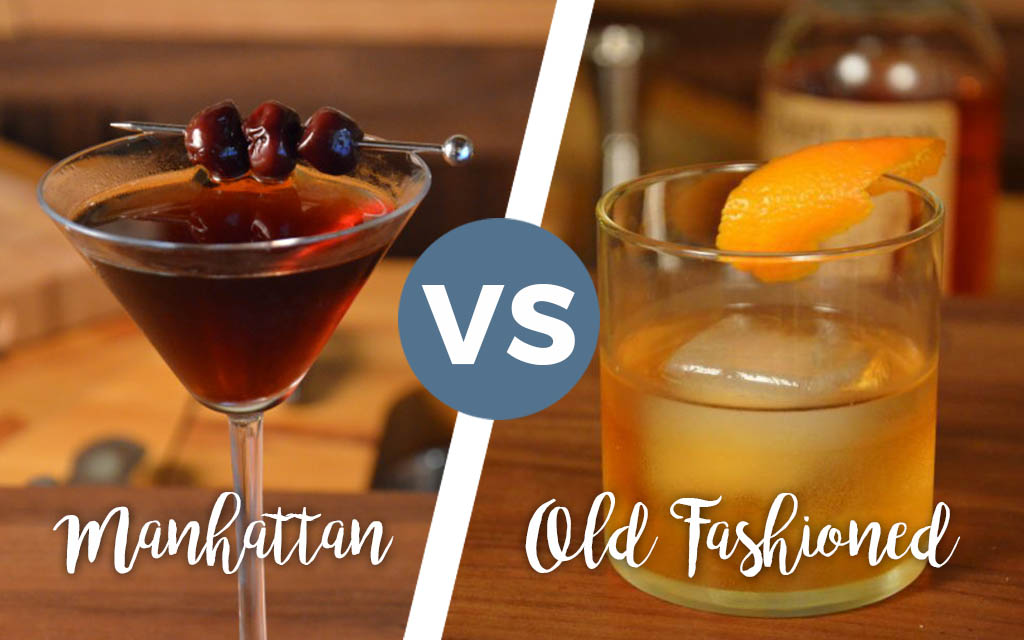 The Manhattan Vs The Old Fashioned A Bar Above
