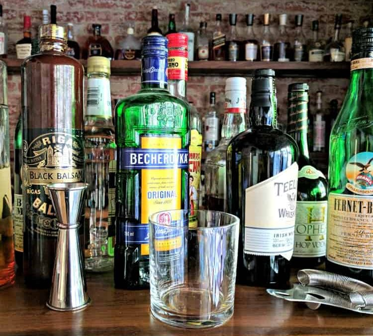 How to Stock a Home Cocktail Bar