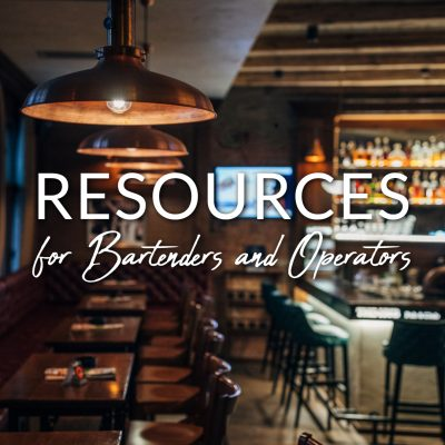 COVID-19 Resources for Bartenders & Operators
