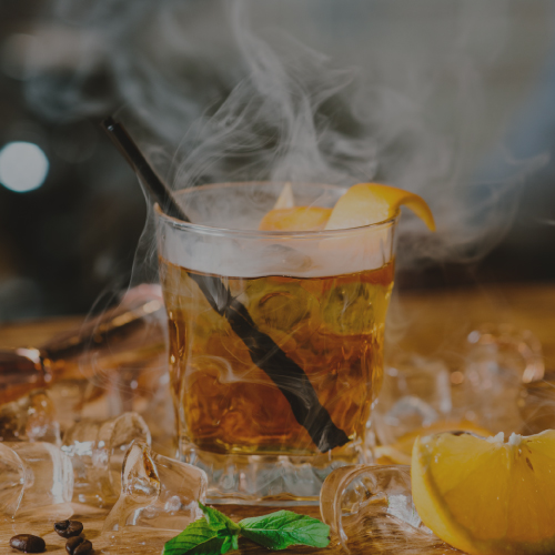 How to Make Smoked Ice Cubes