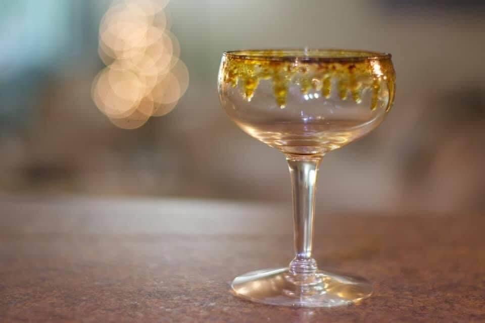 A coupe glass