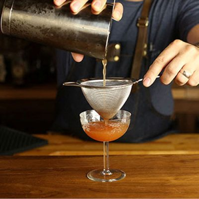 How To Double Strain A Cocktail